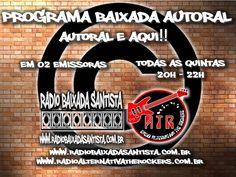 Fala Galera!! Todas as Quintas ao VIVO!!! www.radiobaixadasantista.coom.br www.radioalternativatherockers.com.br  #rock #metal #autoral #alternative #013 #santoscity #music #som #bandas #band #som #music #musicalive #lancamento #lancamentomusical #lançamentos #albums #radiobaixadasantista #baixadasantista #santos #santoscity #radio #radiofrequencia #oficial #rock #rocknroll #poprock #rockbr #rockbrasil #aovivo