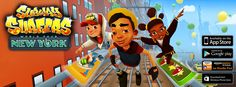 Subway Surfers is absolutely an exciting free mobile game with endless running. This game has become available for playing on Windows Phone, iOS, Android and Kindle platforms. Play now!