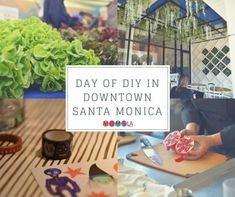 We had a Day of DIY in Downtown Santa Monica. We shopped at the Farmers Market, cooked a wonderful meal, made crafts and ate delicious food. Los Angeles Neighborhoods, Have A Day, Santa Monica, Southern California, Farmers Market, Delicious Food, Family Travel, The Neighbourhood, Things To Do
