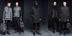 alexander-wang-street-goth-ninja-fall-2013 - I think it's the sleek minimalistic lines and dark colors that make it... NINJA!!!