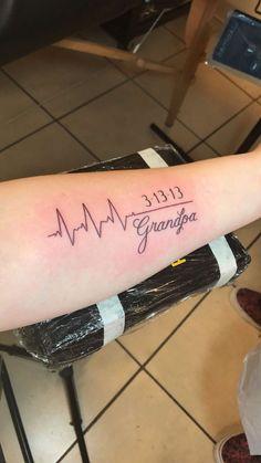 Tattoo-Ideen zum Gedenken an Tat 64 Super-Ideen - Tattoo-Ideen . - Tattoo-Ideen zum Gedenken an Tat 64 Super-Ideen – Tattoo-Ideen In Erinnerung an - Opa Tattoo, Tatoo Henna, Mini Tattoos, Small Tattoos, Tatouage Rip, Grandparents Tattoo, Memorial Tattoos For Grandma, Tattoos For Remembrance, Memorial Tattoo Quotes