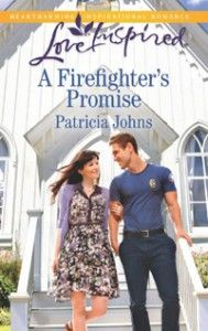 GIVEAWAY! A Firefighter's Promise by Patricia Johns, giveaway ends 5/31/15.