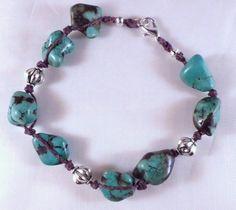 Magnesite bracelet by EarthMotherJewels on Etsy, $18.00