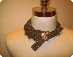Embellished collars and chokers