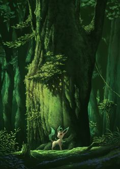 Leafeon deep within the forest