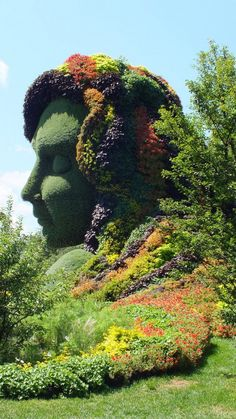 Mother Earth (profile) - Mosaiculture - Montreal Botanical Gardens