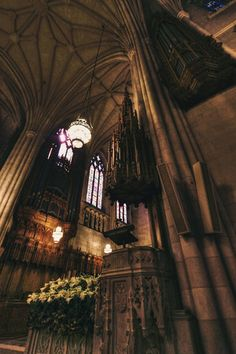 Inside Duke Chapel
