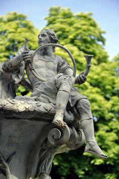 Detalle del Real Sitio de San Ildefonso, Segòvia, España