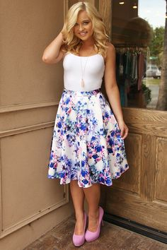 Keep On Your Toes Skirt: Multi #shophopes