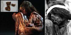 """""""Científicos descubren un linaje humano que se formó hace 14.300 años a través de la momia de un niño"""" La investigación respalda los últimos estudios genéticos que sostienen que los primeros humanos que pisaron América lo hicieron hace 15.000 años desde Siberia.  (12 NOV 2015)"""