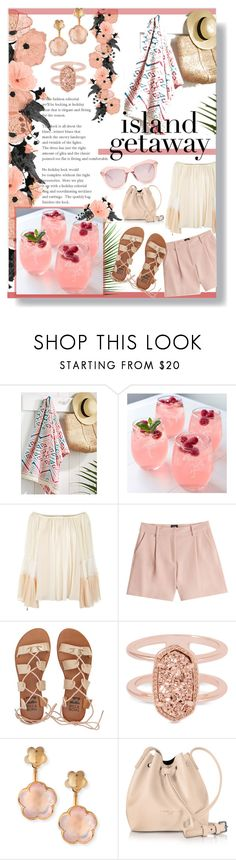"""""""Island Getaway"""" by lillyluvs ❤ liked on Polyvore featuring Simons Maison, Cathy's Concepts, Chloé, McQ by Alexander McQueen, Billabong, Kendra Scott, Pasquale Bruni, Lancaster, Karen Walker and islandgetaway"""
