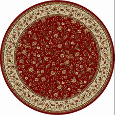 Como 1593 Red Oriental Rug - 1593-113 By Radici Rugs