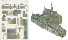 Jumping Jacks, Leiden, Paper Models, Model Trains, Statue Of Liberty, Miniatures, Templates, Buildings, House
