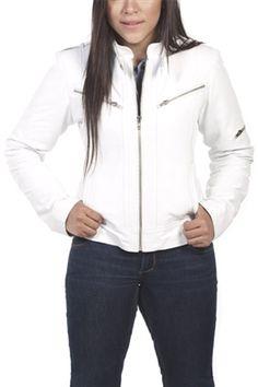 Zippered Leather Jacket