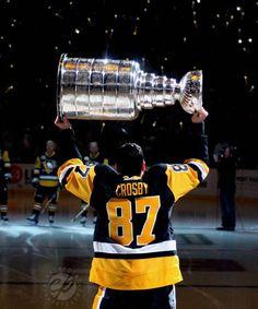 The Captain and his Cup Pens Hockey, Ice Hockey, Hockey Baby, Hockey Stuff, Nhl Wallpaper, Ted Lindsay, 2010 Winter Olympics, Hockey World Cup, Hockey Rules