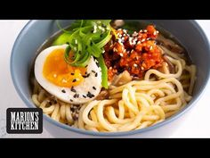 Marion's Kitchen is packed with simple and delicious Asian recipes and food ideas. Miso Noodle Soup, Miso Soup, Noodle Soups, Yummy Noodles, Pork Soup, Asian Soup, Asian Recipes, Ethnic Recipes, Kitchen Recipes