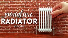 English Country Style, Heating And Cooling, Miniture Things, Radiators, Diy Tutorial, Easy Diy, Barbie, Miniatures, Dolls