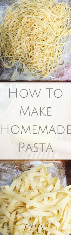 Tackling pasta dough can seem a bit daunting but as long as you follow my tips, making homemade pasta will be breeze!