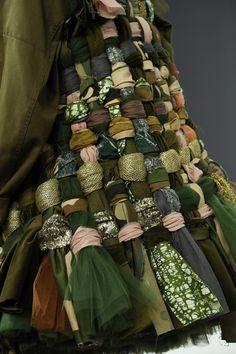 Fashion Art, Viktor & Rolf at Couture Fall 2016 #textiledesign #fashionart
