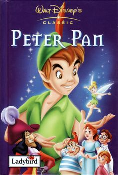 Peter Pan Book-Had to pin here <3