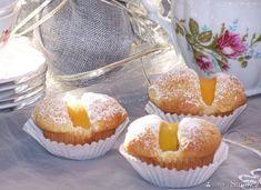 Muffinki na kefirze z brzoskwiniami