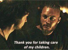 Ragnar & Athelstan - Vikings