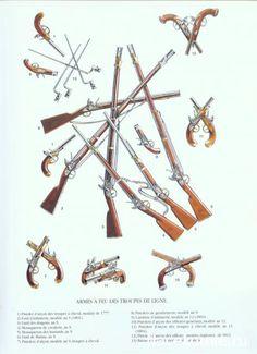 Armi a fuoco della fanteria di linea francese