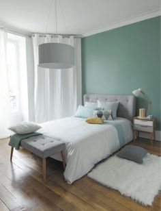 Turquoise Room Ideas - Well, how regarding a touch of turquoise in your room? Set your heart to see it due to the fact that this post will certainly give you turquoise room ideas. Table of Contents. Small Room Bedroom, Dream Bedroom, Home Bedroom, Modern Bedroom, Bedroom Ideas, Bedroom Green, Bedroom Inspiration, Unique Teen Bedrooms, Serene Bedroom