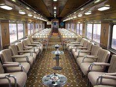 Sunnyside Yard Pennsylvania Railroad The Lounge Car Interior