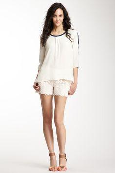 Lace Short | Moon Apparel via Haute Look