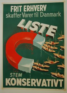 Valgplakater - www.plakatsamling.dk Old Posters, Vintage Posters, Movie Posters, Advertising, Peace, War, Retro, My Love, Quotes