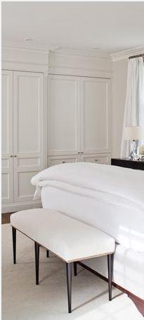 60 Ideas white closet bedroom simple for 2019 White Bedroom Door, Bedroom Closet Doors, Home Bedroom, Master Bedrooms, Closet Wall, Airy Bedroom, White Bedrooms, Bathroom Closet, Small Bathroom