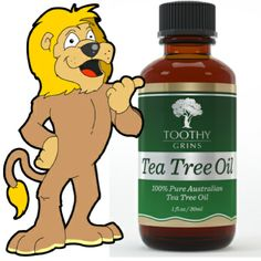 Powerful, Like a Lion!   http://GetTeaTreeOil.com