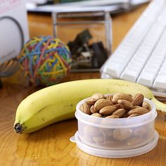 Confused about what to snack on while at work? Here are some amazing (and easy) ideas for office munching: http://www.cookinglight.com/eating-smart/smart-choices/healthy-office-snacks-00400000065105/