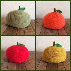ゆず帽子 Baby Crafts, Diy And Crafts, Knitted Hats, Crochet Hats, Funny Pillows, Crochet Accessories, Diy Crochet, Handmade Baby, Knitting Projects