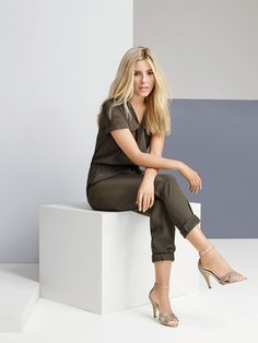 """""""I love this jumpsuit – it hits the utility trend spot and does day-to-night brilliantly."""" #LovedByMollie"""