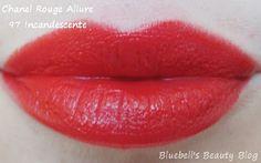 Bluebell's Beauty Blog: Chanel Rouge Allure - 97 Incandescente und 90 Pimpante