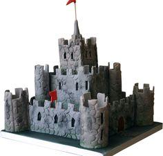 Castle Cake for Boys | Castle Cake Childrens Birthday Celebration Derby Nottingham UK ...
