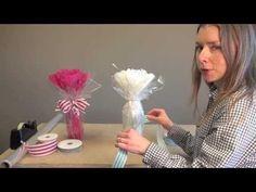 How to Gift Wrap a Bottle | Nashville Wraps - YouTube