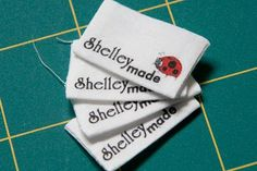 Shelley Made: Custom Labels with Spoonflower