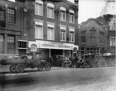 Noorderhaven 61, agentschap brouwerij d'Oranjeboom, 1928. De agent was Jac. Deen