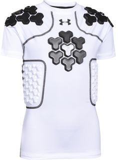best service 6f40f bb60c Under+Armour+Gameday+Armour+Boys +5-Pad+Football+Shirt