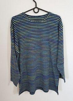 Kup mój przedmiot na #vintedpl http://www.vinted.pl/damska-odziez/swetry-z-dzianiny/16446649-oryginalny-sweter-kolor-wzor-vintage