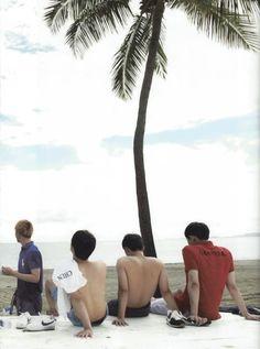 D.O, Baekhyun, Chanyeol, Chen - 160920 Second official photobook 'Dear Happiness' - Credit: MoncherDo.