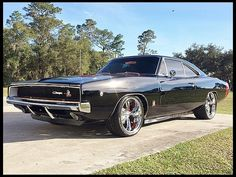 1968 Dodge Charger  383/400 HP, Automatic #Mecum #Kissimmee #WhereTheCarsAre