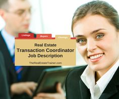 Real Estate Transaction Coordinator - Learn the Job Description of a real estate transaction coordinator, along with when and how to hire& train them. Real Estate Staging, Real Estate Tips, Selling Real Estate, Property Investor, Real Estate Investor, Real Estate Companies, Real Estate Assistant, Assistant Jobs, Transaction Coordinator