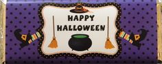 Halloween Candy Wrappers  Adorable graphics by snugglesnkisses & Jazzypatterns