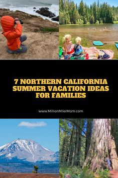 7 ideas for destinations for a summer family road trip vacation in Northern California including suggestions for things to do and accommodations. #familytravel #roadtrip #californiaroadtrip #northerncalifornia #norcal #northerncaliforniaroadtrip #norcalroadtrip #yosemite #lassen #redwoods #sonomacounty #searanch #mendocino @familytripguides @JJandtheBug @stuffedsuitcase @dqfamilytravel @luckybend