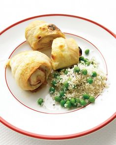 CHICKEN, HAM, AND CHEESE ROLL-UPS