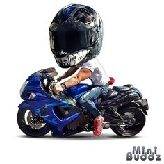 Awesome Motorcycle Artwork by @minibuddz